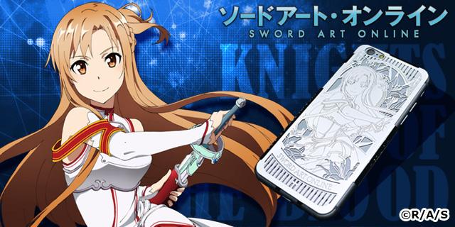 【CROSS-CF限定】ソードアート・オンライン ラグジュアリースマートフォンケース/アスナ