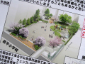 裏通り、芳林公園の改修工事がスタート
