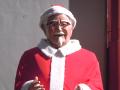 ケンタッキー秋葉原店のカーネルおじさん、2012年もサンタに