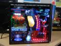 パチンコ台の電飾を組み込んだデコレーションPCが登場! 「宇宙戦艦ヤマトPC」「シャカPC」が展示開始