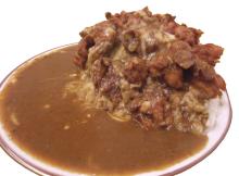 マンモスカレー、「マンモス2kgカレー」の提供を開始! 食べ残しても持ち帰りが可能