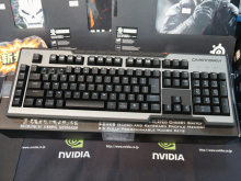 COOLERMASTERの新型ゲーミングキーボード! Cherry MXスイッチ採用