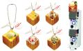 バンダイ、パセラ名物「ハニトー」をフィギュア化! イヤフォンジャックアクセサリーとして3月25日よりガチャガチャで販売