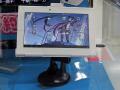 初音ミク仕様のAndroidタブレットの展示デモがスタート!