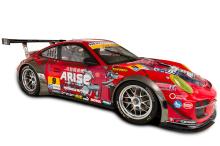 「攻殻機動隊ARISE」、SUPER GT参戦ポルシェ(Porsche 911 GT3R)の車両デザインを公開!