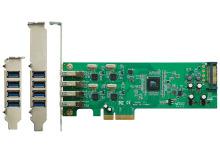 コントローラー×4基搭載のUSB3.0増設カード! 玄人志向「USB3.0RX4-P4-PCIE」発売