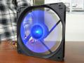 円形状に光るLEDファン! サイズ「光る羽根 120」発売