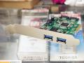 PCI Express x4接続のSATA3.0/USB3.0増設カードが発売! エアリア「Two-Tone Double Arm Suplex」