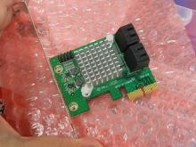 ミニ基板採用のSATA増設カードが発売に! SATA 6Gbps対応の低価格モデル