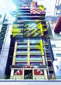2013夏アニメ「ブラッドラッド」、美術設定を公開! 「喫茶サードアイ」「ONIQLO」など魔界の街並みはカラフルに