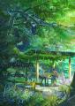 新海誠の新作アニメ映画「言の葉の庭」、タワレコ渋谷店でコラボ展示会を開催! カフェでは「タカオのオムライス」を販売