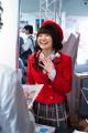 オリジナルTVアニメ「ファンタジスタドール」、声優・大橋彩香が秋葉原でPRを敢行! うずめコスプレでアニメショップ各店を訪問