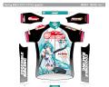 「レーシングミク 2013」仕様のサイクルウェアが登場! グッドスマイルレーシングによる新ブランド「GSRGear」から