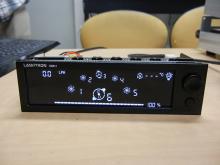 流量表示対応の5インチベイ用ファンコントローラー! LAMPTRON「Watercooling fancontroller」発売
