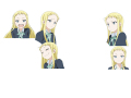 JK青春サバゲーアニメ「ステラ女学院高等科C3部(しーきゅーぶ)」、キービジュアル第2弾と色付きキャラ設定画を公開!