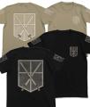 進撃の巨人、「訓練兵団」「調査兵団」仕様のTシャツとキャップがコスパから!