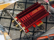 最大1,300Mbps対応のIEEE 802.11ac無線LANカードASUS「PCE-AC66」が登場!
