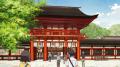TVアニメ「有頂天家族」、舞台である京都でのラッピングバス運行がスタート! 「京まふ」とのコラボ企画