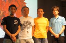 大友克洋:「スタッフみんなでモップを持って青梅街道を走りました」 アニメ映画「SHORT PEACE」、監督4人がアップルストア銀座に登場