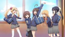 非ゆる系JK日常アニメ「帰宅部活動記録」、TV放送と同時のネット配信が決定! 日テレ初の試み