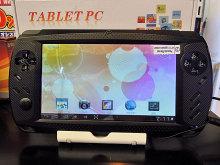 ゲームパッド搭載のノーブランド7インチタブレット「ゲームパッド搭載タブレット 1110」が発売!