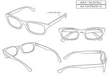 TVアニメ「メガネブ!」、キャラデザに先駆けてメガデザ(メガネ設定画)を公開! 5パターンがスタメン
