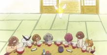 なめこ、アニメ化! ショートアニメ 「なめこ家の一族」配信開始