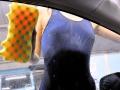 女子×スクール水着×洗車! 秋葉原に「スク水洗車」がオープン、体験レポート