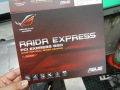 ASUSのゲーマーブランド「R.O.G.」からPCIe接続SSD「RAIDR Express PCIe SSD」が登場! 読み書き800MB/s以上