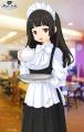 スマホ向け美少女育成ゲーム「属魂少女 ソウルガール」が秋葉原のメイドカフェ5店舗とコラボ