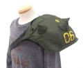 ザクの肩部分=「スパイクアーマー」を再現したバッグがコスパから! もちろん肩に装着可能