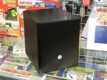 8千円台のフルアルミのキューブケースがサイズから! 300W電源を標準搭載