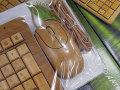 素材に竹を使ったキーボードとマウスのセット「バンブーキーボード&マウスセット」が上海問屋から!