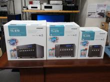 1GbE×4基標準搭載/10GbE×2基へも換装可能なQNAPの企業向けNAS! 「TS-470/670/870」発売