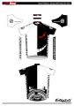 「ダンガンロンパ」仕様のサイクルウェアがGSRGearから! 「モノクマ」デザインなど白黒ツートン全3種