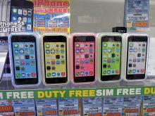 SIMフリー版「iPhone 5c」の全カラーバリエーション5モデルが登場!