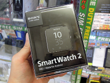 Sony Mobile製スマートウォッチ「SmartWatch 2 SW2」にメタルストラップモデルが登場!