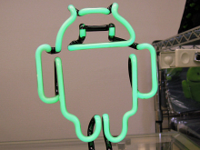 Androidのマスコットキャラクター・ドロイド君をモチーフにしたネオンライトが販売中!