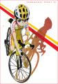 自転車競技アニメ「弱虫ペダル」、杉元照文とMr.ピエールの設定画/キャストを公開! 第5話のED後には「ラブ★ヒメ」が登場