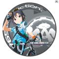 「アイドルマスター」の自転車ホイールステッカー(全13種)がamisportsから! 600mlスポーツボトルも