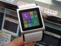 3G通信対応の腕時計型Androidスマホ「SmartWatch SmartPhone EC309」が登場!