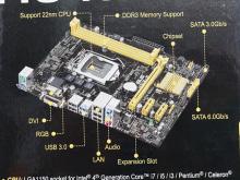 Haswell対応MicroATXマザーの低価格品がASUSから! 「H81M-E」発売