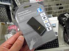 指先ひとつでPCにログインできる「USB接続 指紋認証リーダー」が上海問屋から!