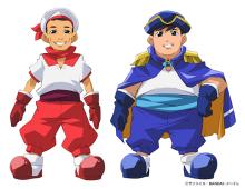 「あたりまえ体操」のCOWCOWがアニメ化! 「最強銀河 究極(アルティメット)ゼロ~バトルスピリッツ~」の第17話で海賊役に