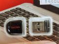 64GBの超小型USBメモリーがSanDiskから! 「Cruzer Fit(SDCZ33-064G-B35)」発売