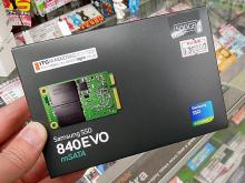 SAMSUNGの高速mSATA SSD「840 EVO mSATA」に、500GBモデルが登場!