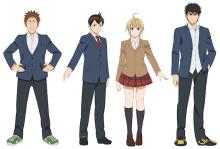 リアルテニスアニメ「ベイビーステップ」、放送開始日が4月6日に決定! メインキャストも発表