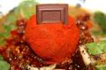 麺屋武蔵×ロッテのチョコレートラーメン「味噌ガーナ2014」、1月31日に販売開始! 今年は「赤玉」によって担担麺風に味が変化