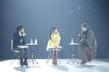 ラジオ番組「水樹奈々のMの世界」、京極夏彦が登場した公開収録の模様を1月25日にオンエア! エロティック朗読はより妖艶に