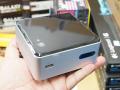 最安1.5万円台のBay Trail-M採用の格安NUCが発売! 2.5インチベイ装備、Wi-Fi/BT標準搭載